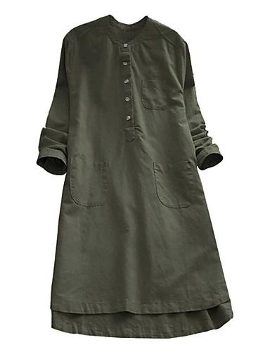 povoljno Majica-Veći konfekcijski brojevi Majica Žene - Kinezerije Kauzalni / Ulica Jednobojni Kolaž Crn