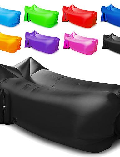 povoljno Livraison gratuite dès €69.99, Sports & Activités-Zračna sofa Kauč na napuhavanje Madrac na napuhavanje Vanjski Kampiranje Vodootporno Prijenosno Otporno na vlagu Dizajn-idealan kauč 260*70 cm Oksford Camping & planinarenje Plaža Putovanje za 1