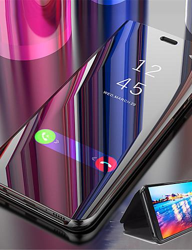 מגן עבור Huawei Huawei Nova 3i / נווה נווה 4 / Huawei Note 10 עם מעמד / ציפוי / מראה כיסוי מלא אחיד קשיח עור PU