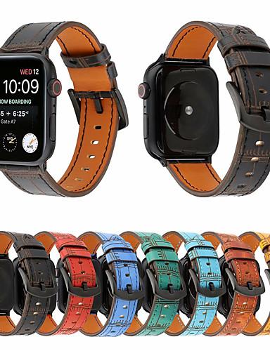 רצועת עור עבור רצועת שעונים תפוח 42mm 38mm 44mm 40mm סדרת קורל iwatch 43/2/1 אופנה במבוק שורש צמיד watchband חגורה