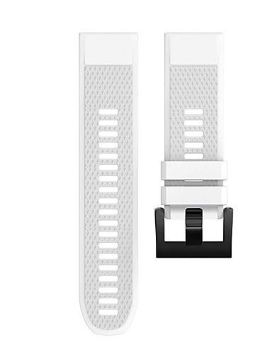 צפו בנד ל Fenix 5x / Fenix 3 / Garmin Descent Mk1 Garmin רצועת ספורט סיליקוןריצה רצועת יד לספורט
