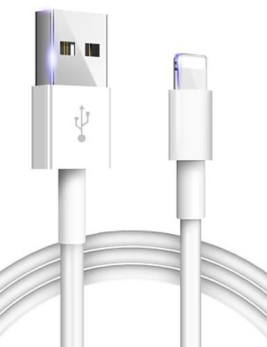במקרה של כבל אפל המקורי 2a כבל טעינה מהירה עבור iPhone xs max xr x 8 7 6 6s 5 5s ipad קו הטלפון מטען כבל USB
