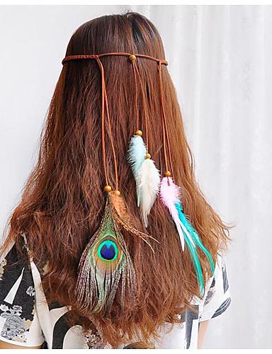 נוצות אביזר לשיער עם נוצות / אהובה חלק 1 מסיבה\אירוע ערב / קרנבל כיסוי ראש