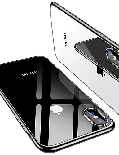 מגן עבור Apple iPhone XS / iPhone XR / iPhone XS Max ציפוי / אולטרה דק כיסוי אחורי אחיד רך TPU