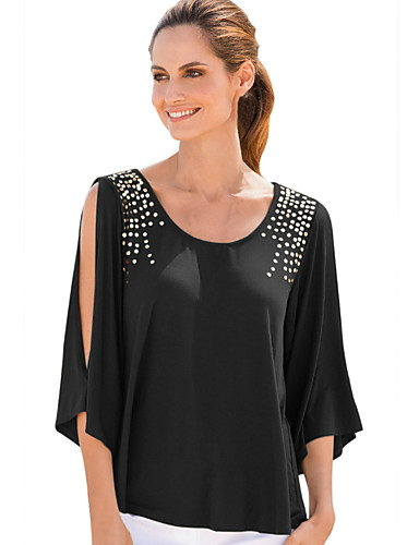 5e7bc603 cheap Women's Tops-Women's Daily Wear T