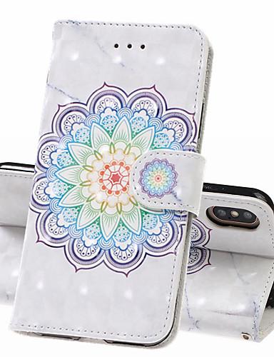 מארז iPhone xs iPhone xs מקס מקרה טלפון pu חומר עור 3D צבוע דפוס תבנית מקרה עבור iPhone xr x 8 פלוס 7 פלוס 8 7 6 פלוס 6 ועוד 6 6