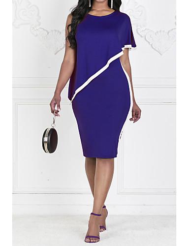 5aa02367ff7 cheap Women's Dresses-Women's Bodycon Dress Chiffon