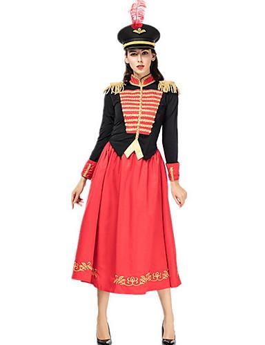 hesapli Dans kostümleri-Dans kostümleri Kıyafetler Kadın's Performans / Cosplay Kostümleri / Tema Partisi Polyester Nakış Etekler / Top