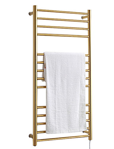 cheap Festival-Towel Bar Towel Warmer Creative Contemporary Stainless Steel 1pc Wall Mounted