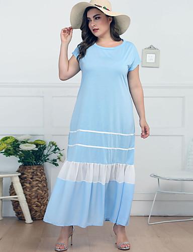 Kadın's Kombinezon Elbise - Solid, Kırk Yama Maksi