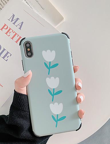 Pouzdro Uyumluluk Apple iPhone XS / iPhone XR / iPhone XS Max Şoka Dayanıklı / Temalı Arka Kapak Karton / Çiçek TPU