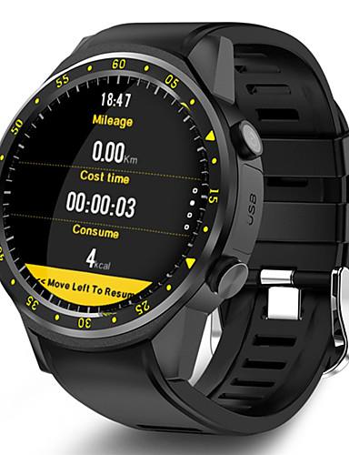 Erkek Spor Saat Dijital Modern Stil Stortif Silikon 30 m Su Resisdansı Bluetooth Smart Dijital Günlük Dış Mekan - Siyah Kırmzı Mavi