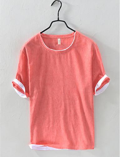 billige Topper til damer-T-skjorte Dame - Ensfarget, Lapper Gatemote Dusty Blue Lyseblå