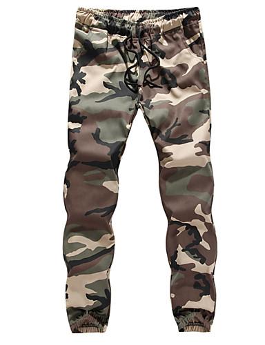 Erkek Temel İnce Chinos Pantolon - Kamuflaj Rengi Gri Ordu Yeşili US46 / UK46 / EU54 US48 / UK48 / EU56 US50 / UK50 / EU58