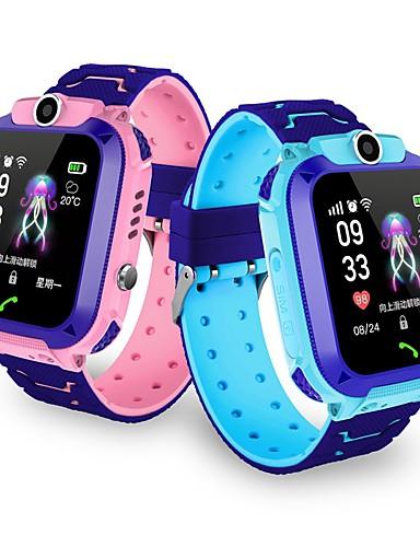 billige Udsalg-Barneklokker YYGM11 til iOS / Android GPS / Lang Standby / Håndfri bruk / Pekeskjerm / Kamera Aktivitetsmonitor / Vekkerklokke / Kalender / 0.3 MP / Pedometere / GSM(850/900/1800/1900MHz)