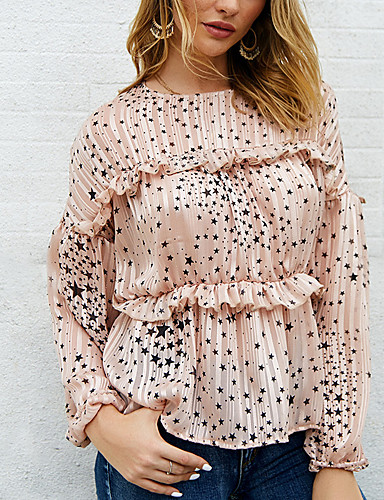 billige Dametopper-Skjorte Dame - Galakse Svart