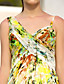 billiga Aftonklänningar-A-linje remmar Golvlång Chiffong Formell kväll Klänning med Korsvis av TS Couture®