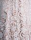 baratos Vestidos para as Mães dos Noivos-Tubinho Correias Cauda Escova Renda Charmeuse Vestido Para Mãe dos Noivos com Renda Franzido de LAN TING BRIDE®