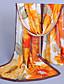 halpa Värikkäät sifonkihuivit-Naiset Vintage / Sievä / Vapaa-aika Sifonki Huivi,Painettu Neliskulmainen