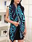 voordelige Modieuze sjaals-Dames Vintage Schattig Informeel Lente Zomer Herfst Katoen Gestreept Vierkant