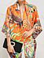 billige Modetørklæder-Damer Afslappet Uendelighedshalstørklæde,Silke Alle årstider Trykt mønster