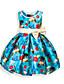 お買い得  女児 ドレス-女の子の カジュアル/普段着 ホリデー フラワー コットン ドレス オールシーズン