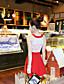 preiswerte Damen Kleider-Damen Hülle Kleid-Ausgehen Einfach Solide Rundhalsausschnitt Mini Ärmellos Baumwolle Sommer Mittlere Hüfthöhe Mikro-elastisch Mittel