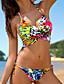abordables Biquinis y Bañadores para Mujer-Mujer Boho Bikini - Estampado