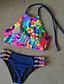 abordables Biquinis y Bañadores para Mujer-Mujer Bikini Arco iris Halter