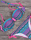 cheap Women's Swimwear & Bikinis-Womens Vintage Tribal Boho Diamond Swimsuit Bikini