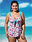 billige Bikinier og bademode 2017-Dame En del - Blomstret, Moderne Stil Cheeky