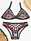 billige Bikinier og damemote 2017-Dame Bohem Bikini - Trykt mønster, Cheeky Grafisk