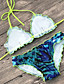 זול 2017ביקיני ובגדי ים-מכנס מדפיס, סגנון אמנותי - ביקיני בגדי ריקוד נשים