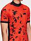 billige Sykkeljerseys-21Grams Herre Kortermet Sykkeljersey - Rød Stribe Klassisk Sykkel Skjorte Genser Jersey, Pustende Fort Tørring Refleksbånd 100% Polyester / Elastisk / Avanceret / Svettereduserende