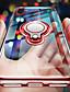 זול מגנים לאייפון-מארז עבור iPhone xs / iPhone xr שקוף / Ultra-thin / בעל טבעת אחורית שקוף / מוצק צבע רך tpu iPhone 6 / iPhone 6 פלוס / iPhone 6s פלוס / iPhone 7 / iPhone 7 פלוס / iPhone 8