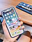 hesapli iPhone Kılıfları-Apple iphone xs max / iphone x yumuşak silikon darbeye dayanıklı apple koruyucu kabuk karikatür tpu desen kılıfı çanta çiçek yumuşak plastikler için iphone 6 / iphone 6 s artı / iphone 8