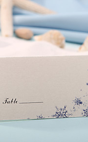 Place Cards and Holders Place Card - Snow (Set of 12) Wedding Reception