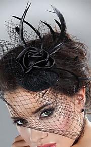 Femme Plume Tulle Casque-Mariage Occasion spéciale Coiffure