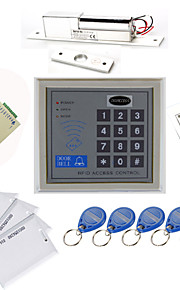 Stand Alone access controller Kits (Electric Bolt, 10 EM-ID-kort, Power Supply)