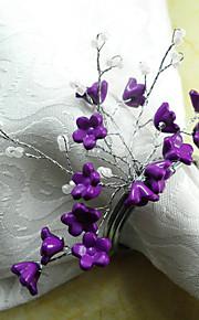 Blomma Akryl / Bomull Servettring Miljövänlig Bordsdekorationer