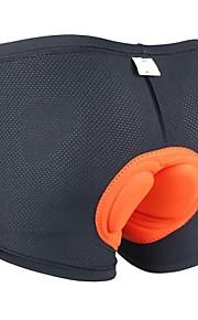 Arsuxeo Homme Sous-Vêtements de Cyclisme - Noir Vélo Shorts Rembourrés Shorts Sous-vêtements, Séchage rapide, Design Anatomique,