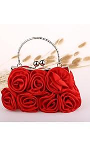 c7f154a5a6 62 Γυναικεία Τσάντες Νάιλον Βραδινή τσάντα Λουλούδι Μαύρο   Κόκκινο   Σομόν