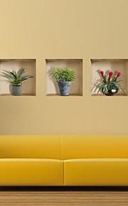 3D Stickers muraux Autocollants muraux 3D Autocollants muraux décoratifs, Vinyle Décoration d'intérieur Calque Mural Mur