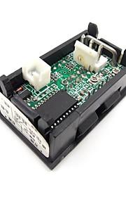 dc 0-100v / 10a geleid dubbel display amperemeter voltmeter volt amp meter voor de auto's motoren jacht mechanische apparatuur etc