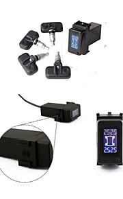 cartpms voor nissan bandenspanningscontrolesysteem 4 interne sensoren bar-display diagnostische hulpmiddelen psy daweoo