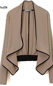 NUO WEI SI®Women's European Fashion Long Sleeve Cardigan Blazer