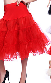 Mariage Occasion spéciale Fête / Soirée Quotidien Déshabillés Organza Tulle Genou Robe trapèze Classique & Intemporel avec