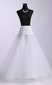 Mariage Occasion spéciale Fête / Soirée Déshabillés Polyester Spandex Tulle Ras du Sol Robe trapèze Classique & Intemporel avec