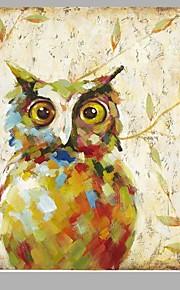 Hang-роспись маслом Ручная роспись - Животные Европейский стиль холст