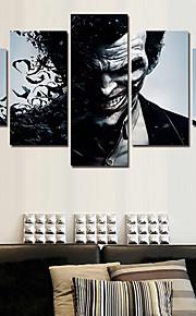 Imprimé Toile - Abstrait / Personnage / Pop Art Moderne